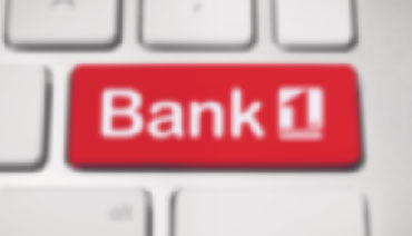 Bank First Federal button on a computer keyboard